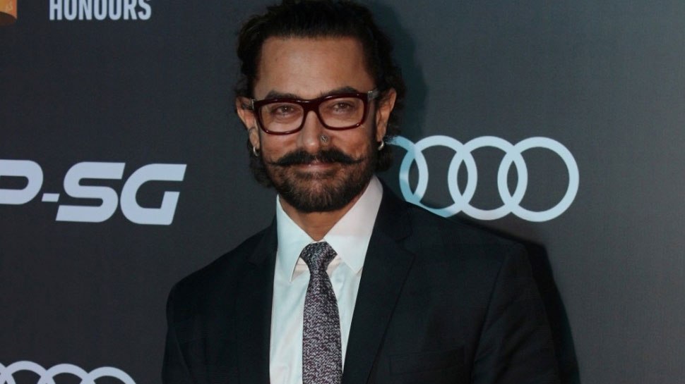 Worlds Biggest Superstar Aamir Khan spotted at an event.